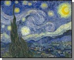Starry Night, by Vincet Van Gogh